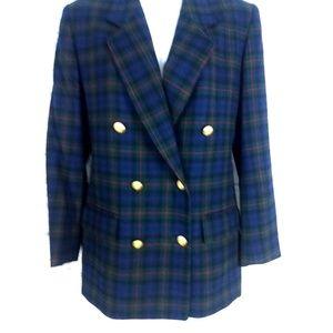Vintage Pendleton Plaid Jacket Wool
